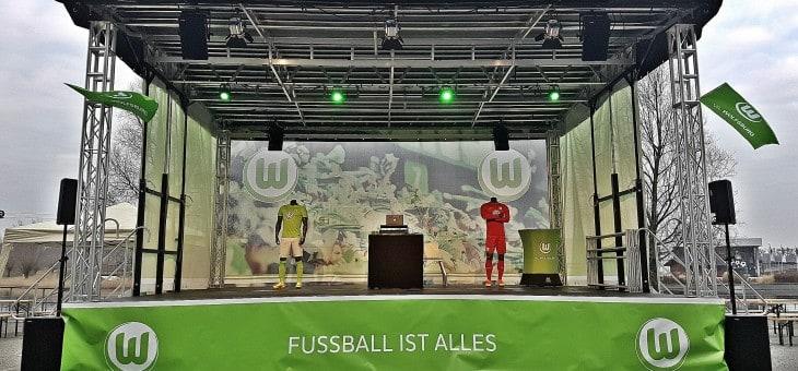 VFL-Bühne im neuen Gewand